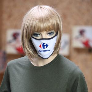 Mascherina personalizzata con il tuo Brand