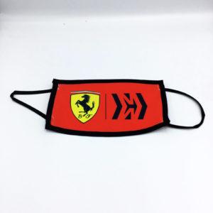 Mascherina Ferrari 01