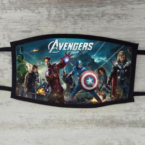 Mascherina Avengers